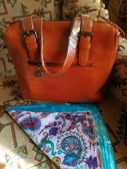 Модная сумка в винтажном стиле!